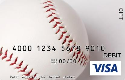 Baseball Visa Gift Card
