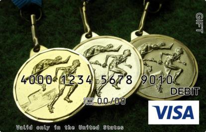 Medals Visa Gift Card