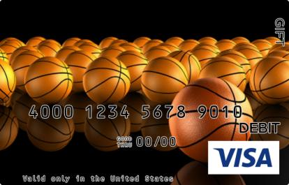 Basketballs Abound Visa Gift Card