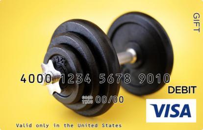 Gym Visa Gift Card