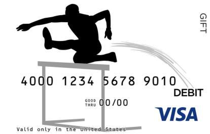 Hurdles Visa Gift Card