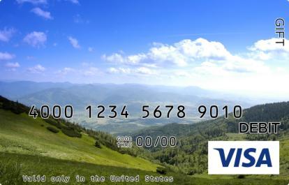 Scenic Valley Visa Gift Card
