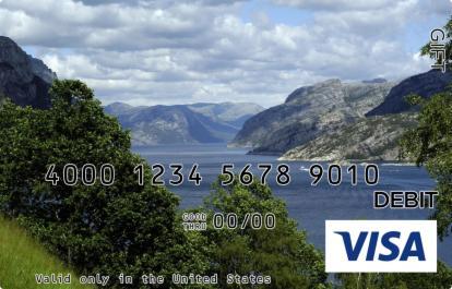 Boating on a Lake Visa Gift Card