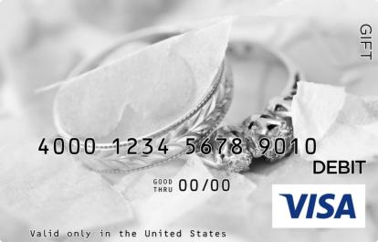 Anniversary Ring Visa Gift Card