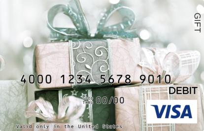 Ornate Presents Visa Gift Card