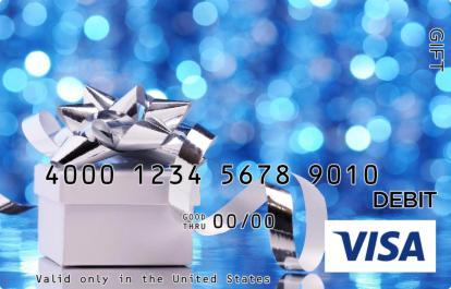 Silver Ribbon Visa Gift Card