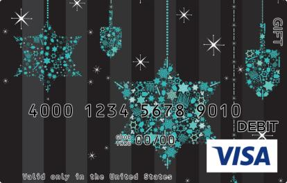 Stars and Dreidels Visa Gift Card