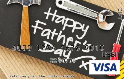 Handyman Dad Visa Gift Card