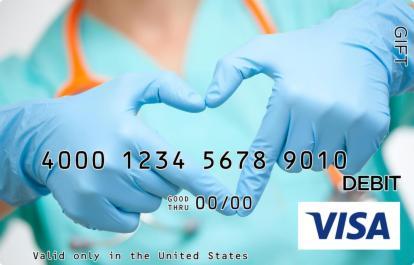 Nursing Visa Gift Card
