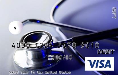 Medical Visa Gift Card
