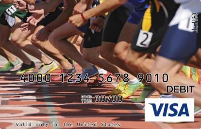 Runner Visa Gift Card