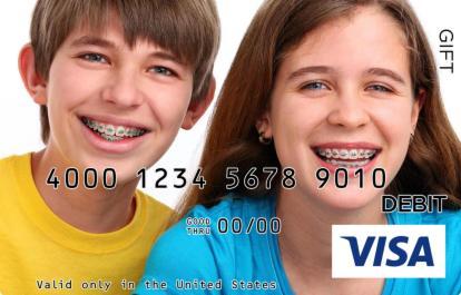 Smile Visa Gift Card