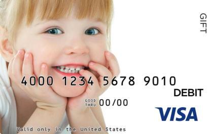 Child Visa Gift Card