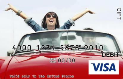 Life Is Great Visa Gift Card