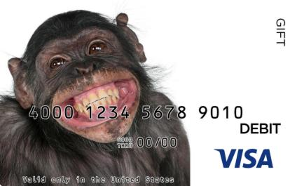 Chimp Visa Gift Card