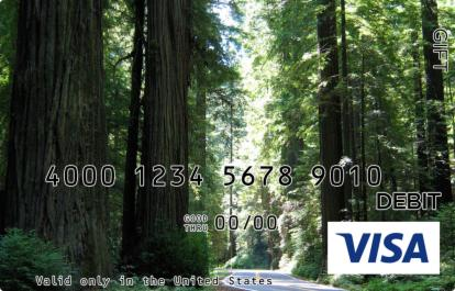 Forest Visa Gift Card