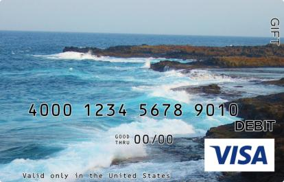Breaking Waves Visa Gift Card