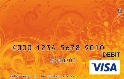 Colors of Autumn Visa Gift Card