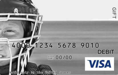 Catchers Gear Visa Gift Card