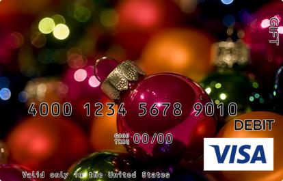 Ornamental Visa Gift Card