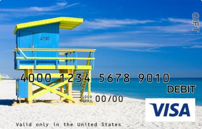 Lifeguard Visa Gift Card