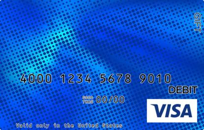 Blue Dot Visa Gift Card