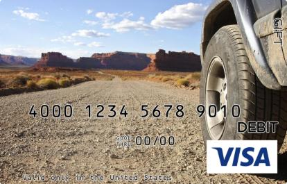 Middle of Nowhere Visa Gift Card
