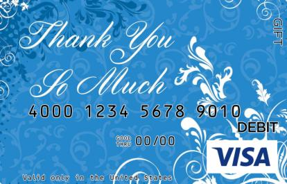 Thank You So Much Visa Gift Card