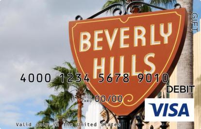 Beverly Hills Visa Gift Card
