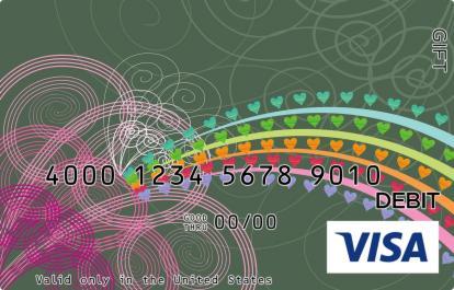 Rainbow Trail Visa Gift Card