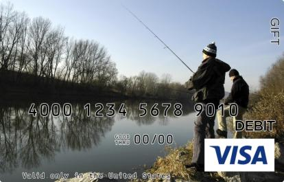 Outdoor Fishing Visa Gift Card