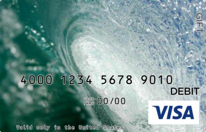 Surfer Visa Gift Card