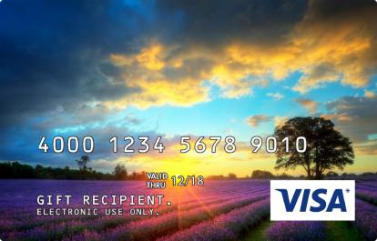 Sunrise Design Visa Prepaid Card