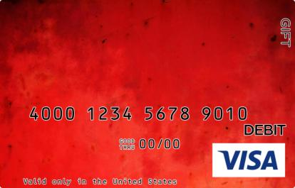 Red Marble Visa Gift Card