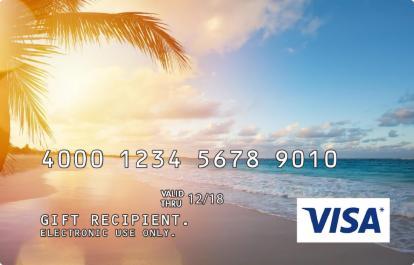 Sunset Incentive Visa Prepaid Card