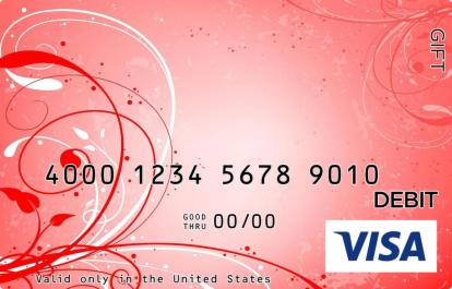 Red Vines Visa Gift Card