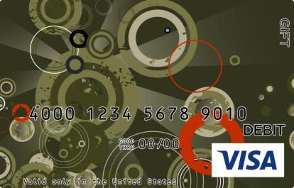 Pewter Visa Gift Card