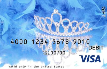 Quinceanera Visa Gift Card