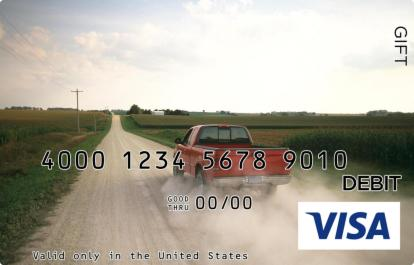 Open Road Visa Gift Card