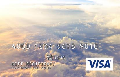 Clouds Incentive Visa Prepaid Card