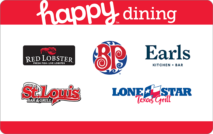 Happy Dining Card Ontario