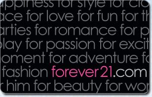Forever 21 eGift Cards