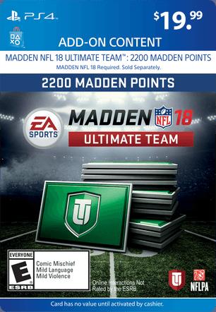 Madden Ultimate Team eGift Card
