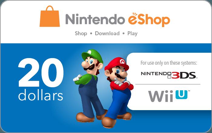 Nintendo $20 eGift Card