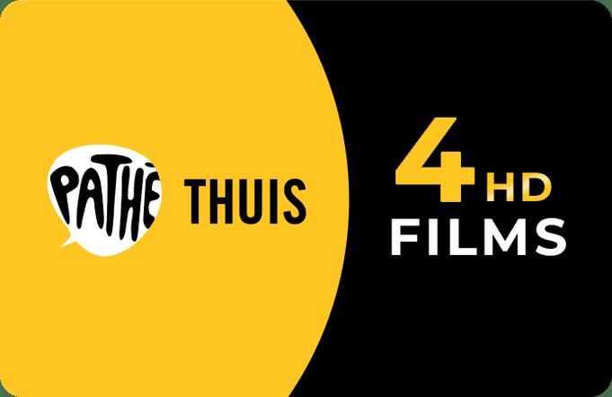 Pathé Thuis eGift 4 HD films