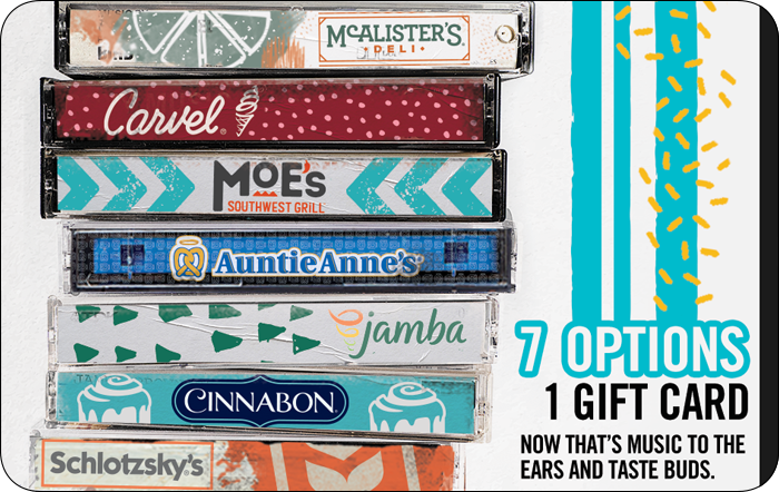 Mix It Up™ Gift Card