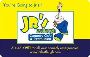 Jr's Last Laugh eGift Card $25