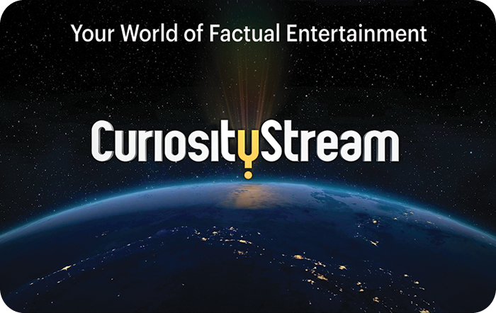 CuriosityStream $25 eGift