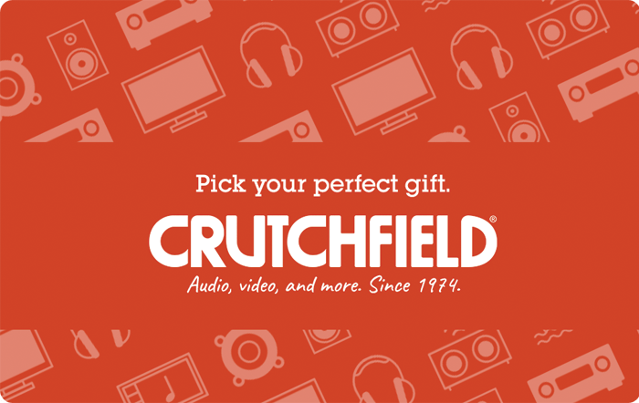 Crutchfield Electronics eGfit Card