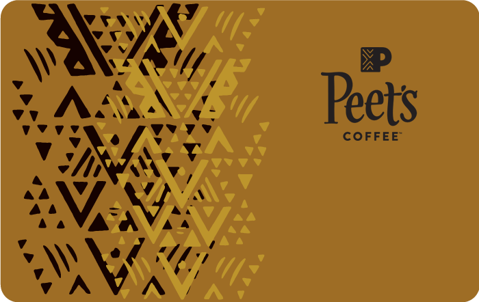 Peet's Coffee eGift Card